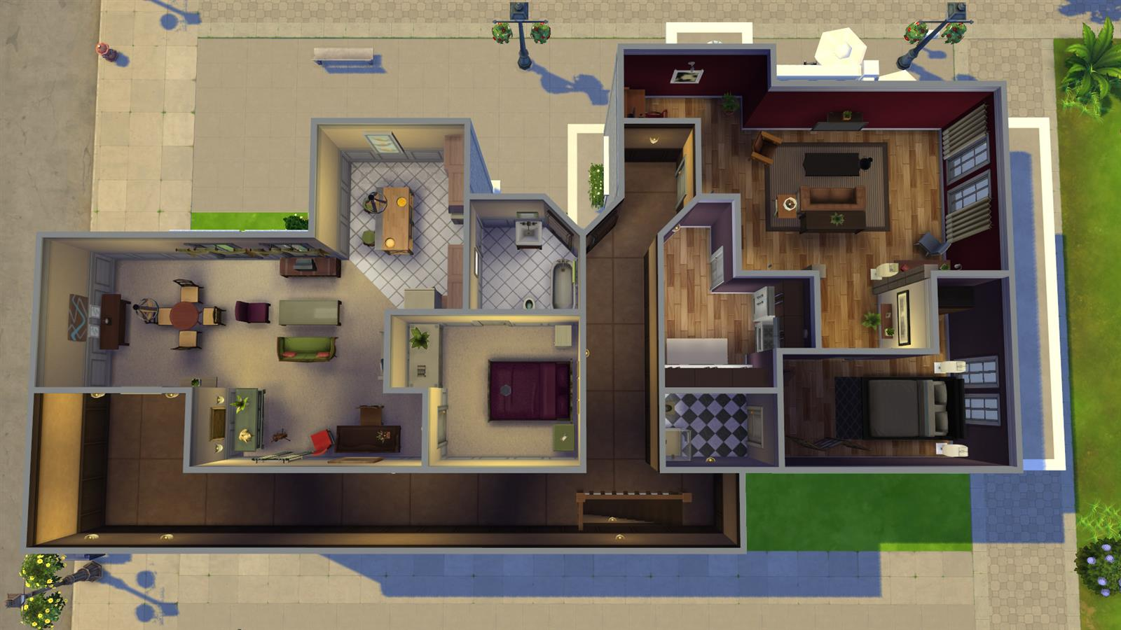 Friends In Sims (14)