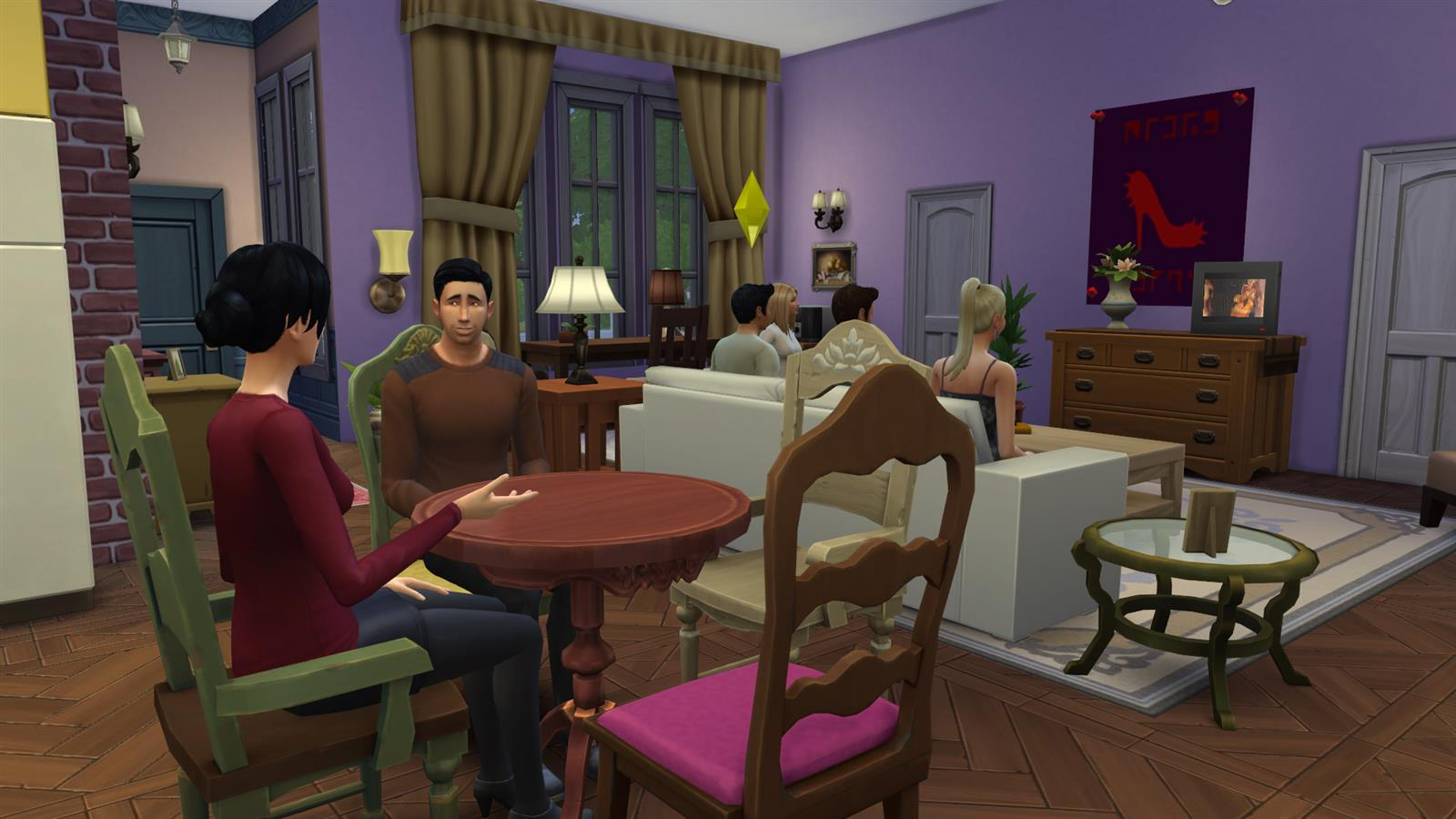 Friends In Sims (15)