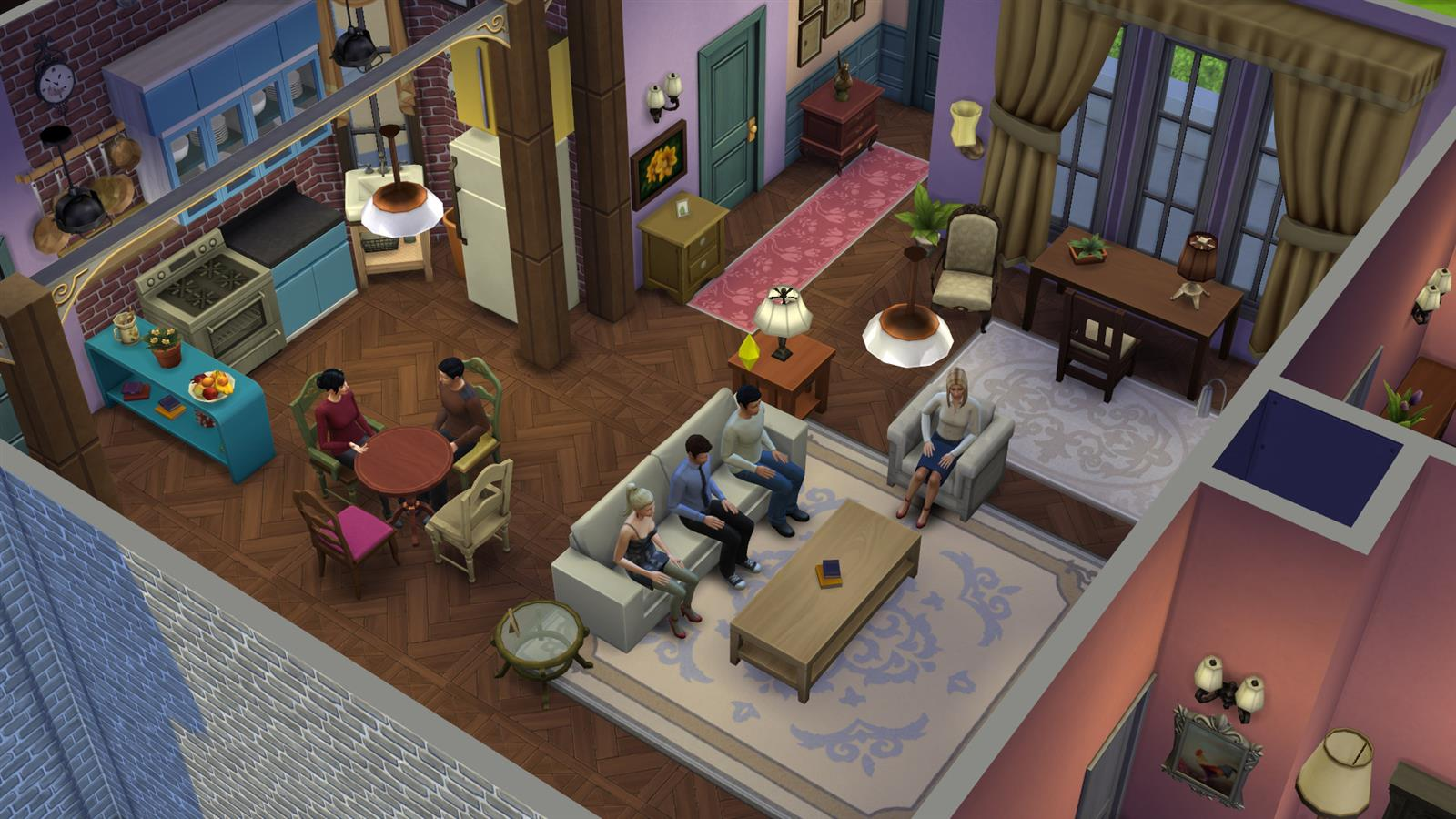 Friends In Sims (16)