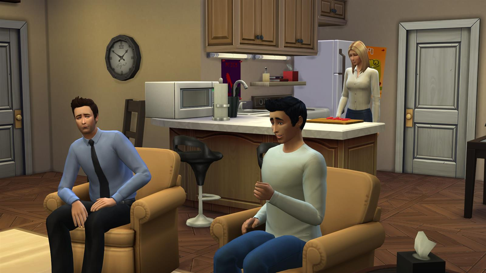 Friends In Sims (17)