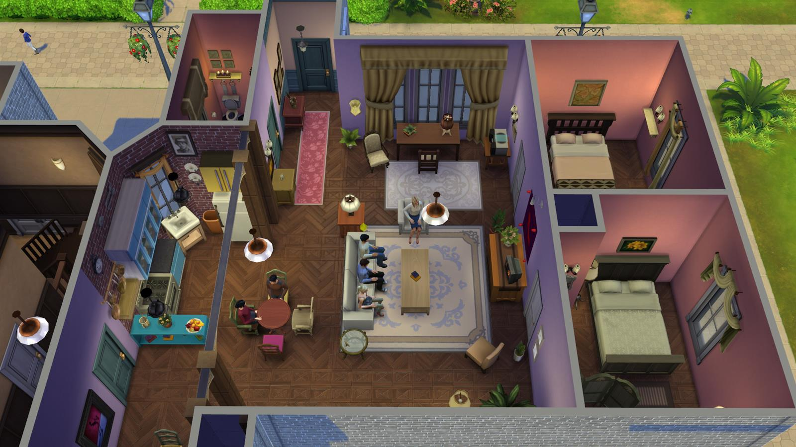 Friends In Sims (20)