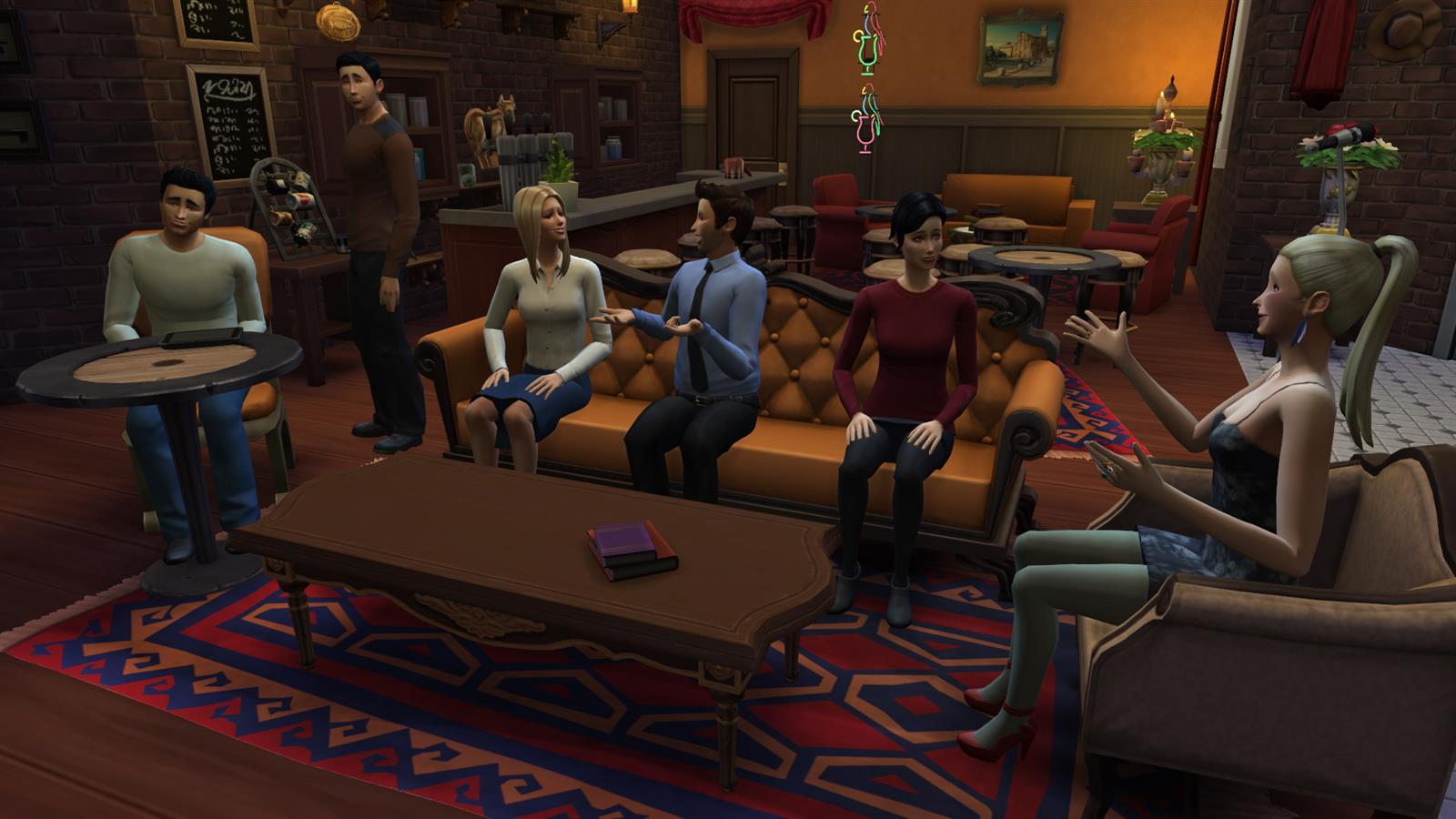 Friends In Sims (22)