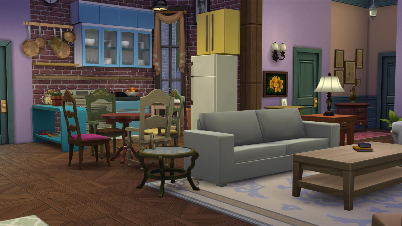Friends In Sims (4)