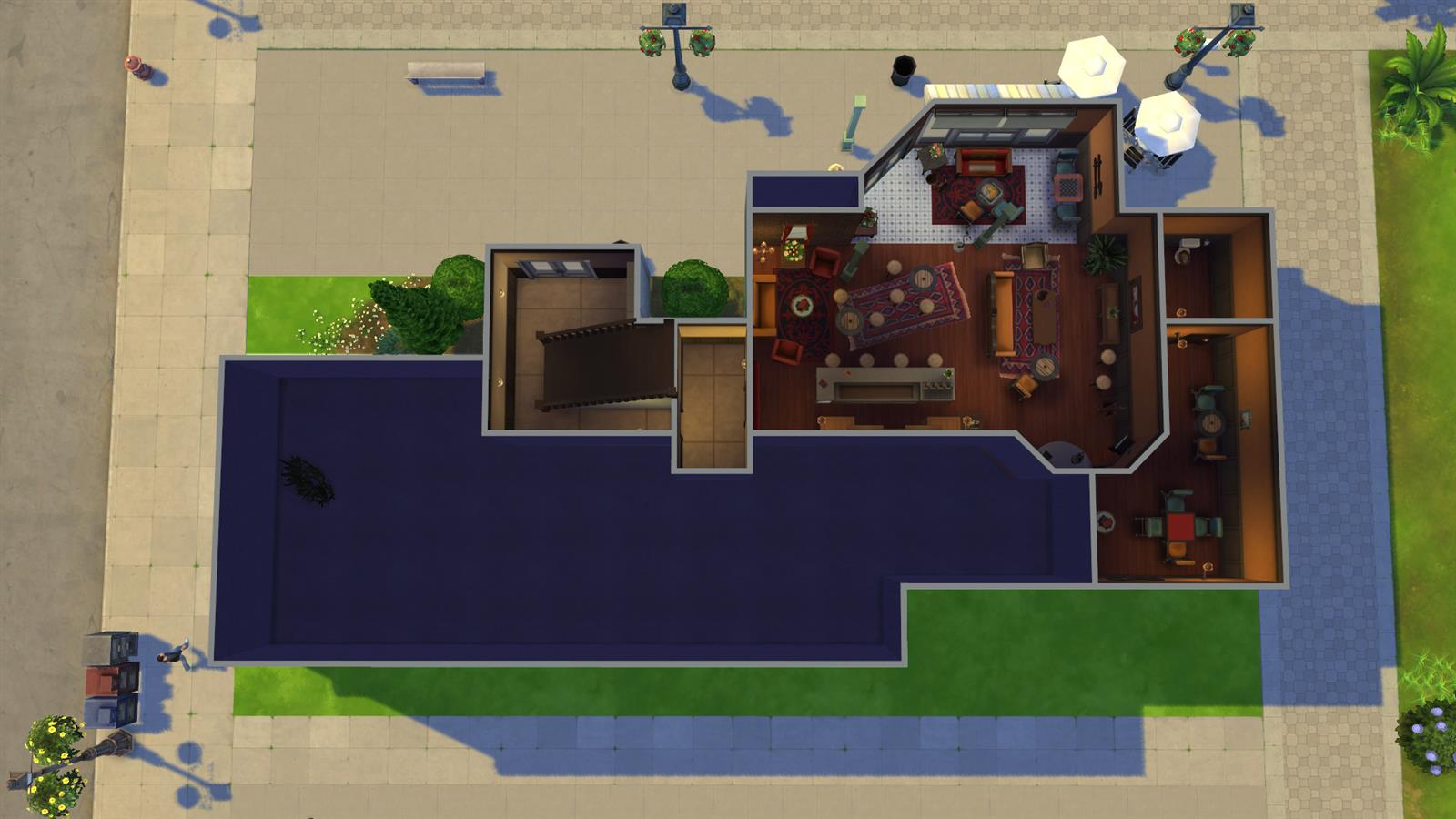 Friends In Sims (7)