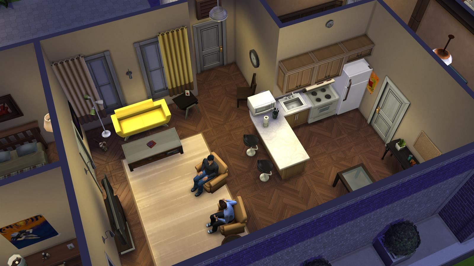 Friends In Sims (9)