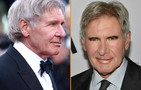 Harrison Ford Without Makeup