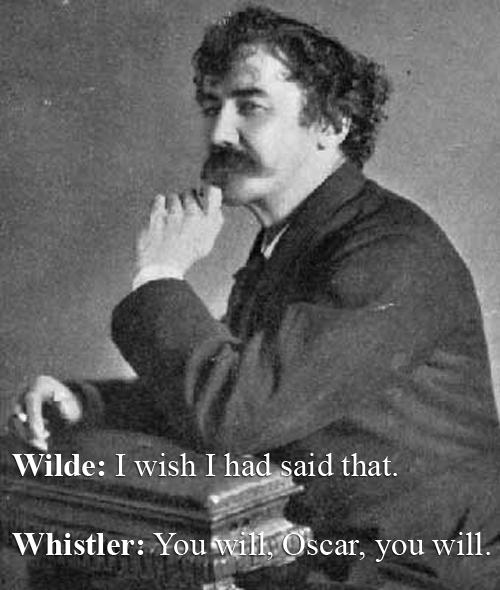 James McNeill Whistler vs Oscar Wilde