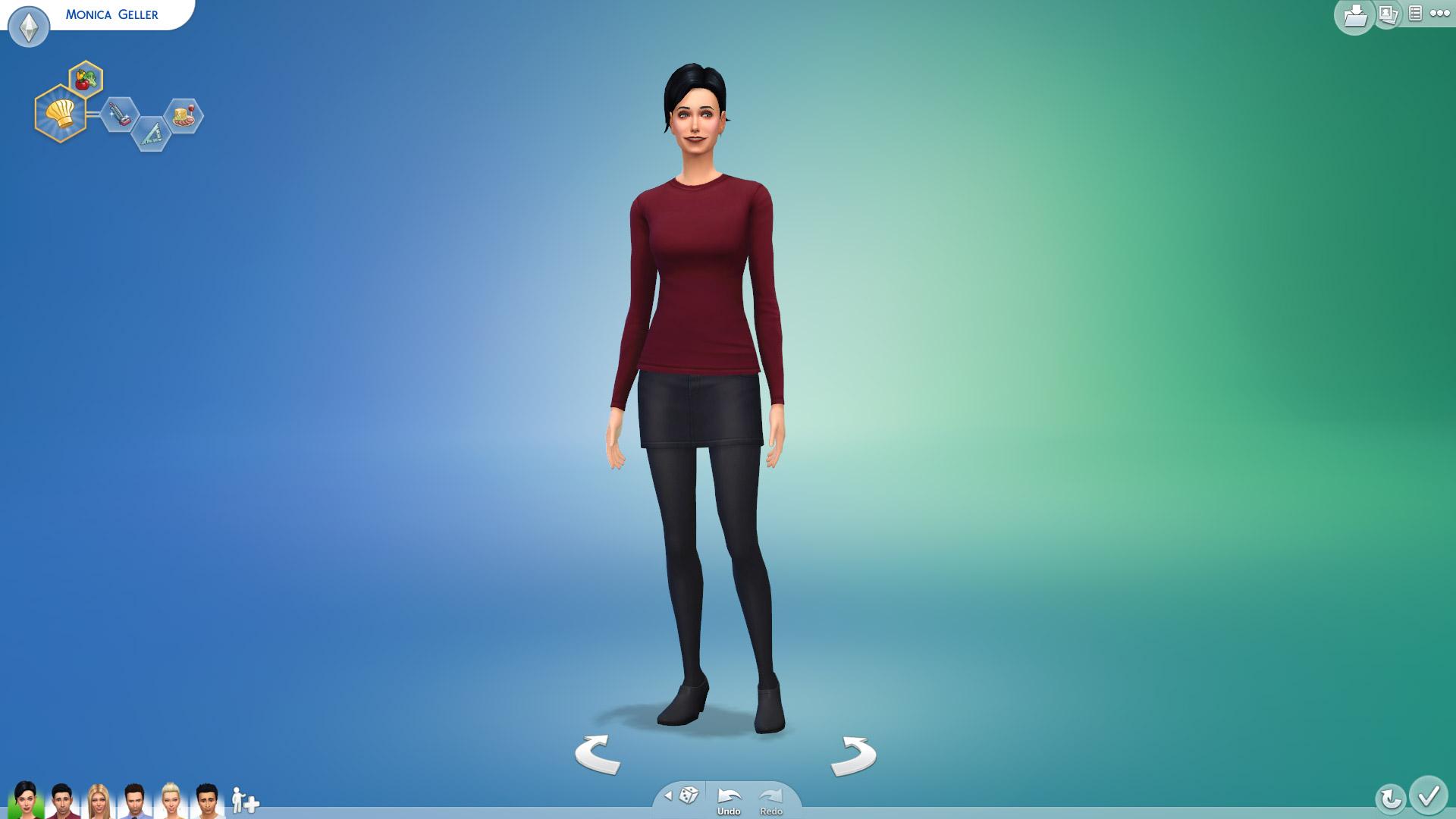 Monica Gellar In Sims