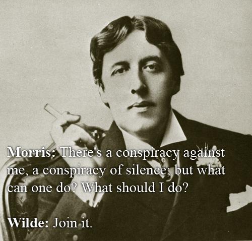 Oscar Wilde vs Lewis Morris