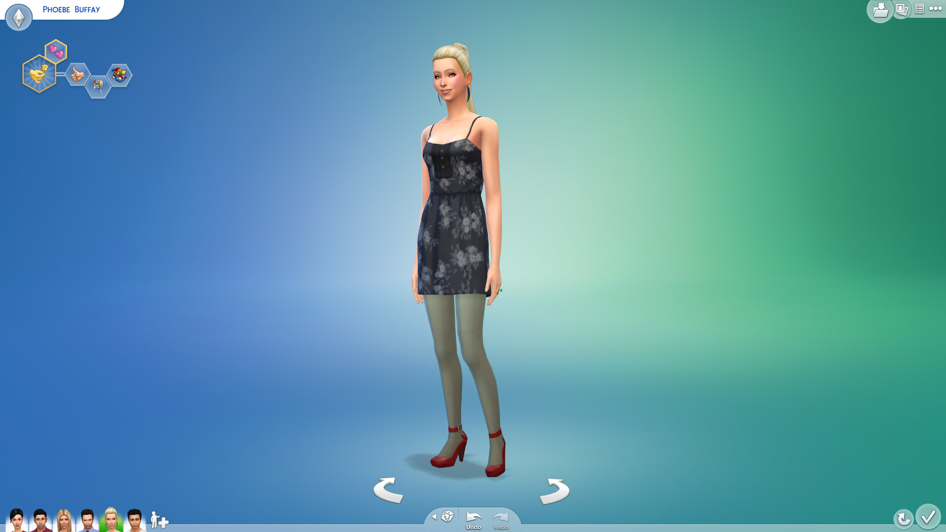 Phoebe Buffay In Sims
