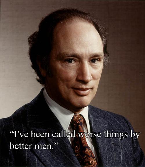 Pierre Trudeau vs Richard Nixon