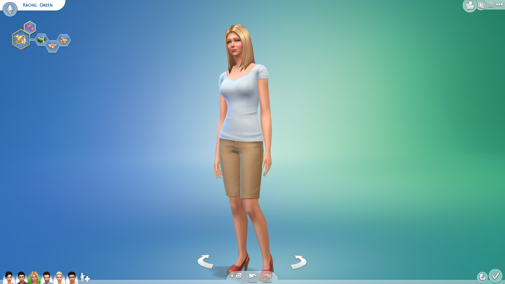 Rachel Green In Sims