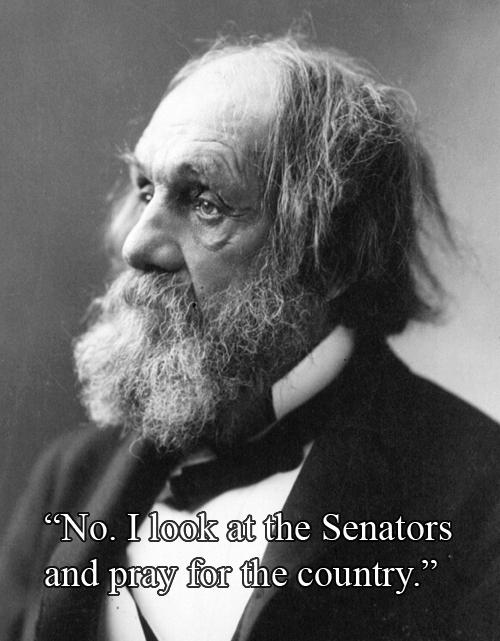 Reverend Edward Everett Hale vs The U.S. Senate