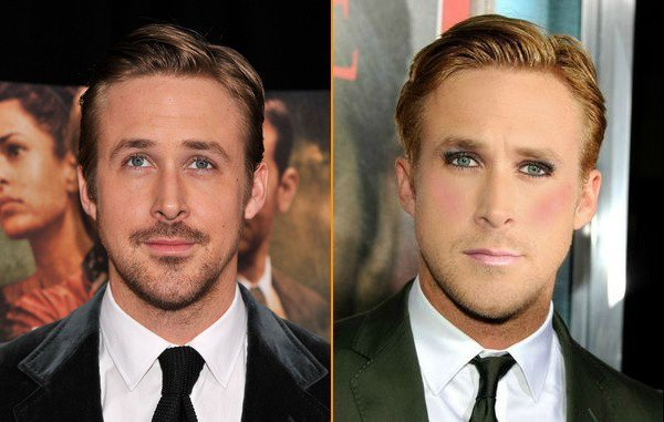 Ryan Gosling Without Makeup