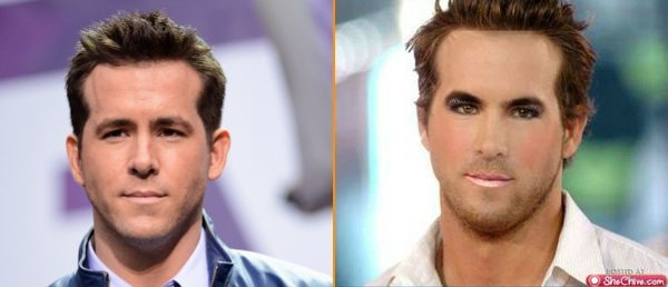 Ryan Reynolds Without Makeup