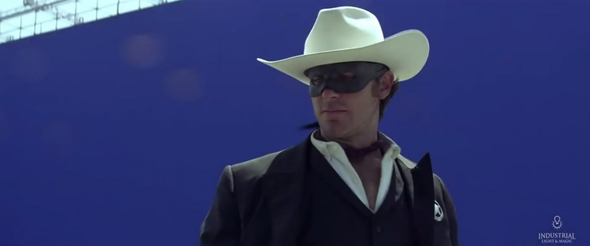 The Lone Ranger Without CGI