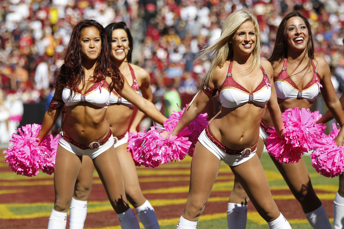 Washington Redskins Cheerleaders 2