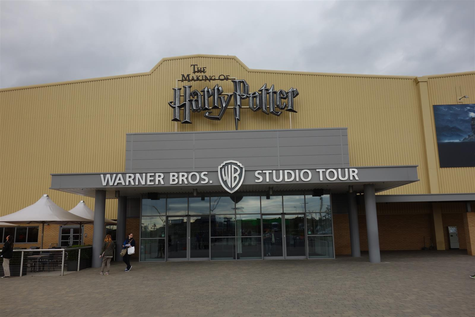 1. WB Studio Tour Entrance
