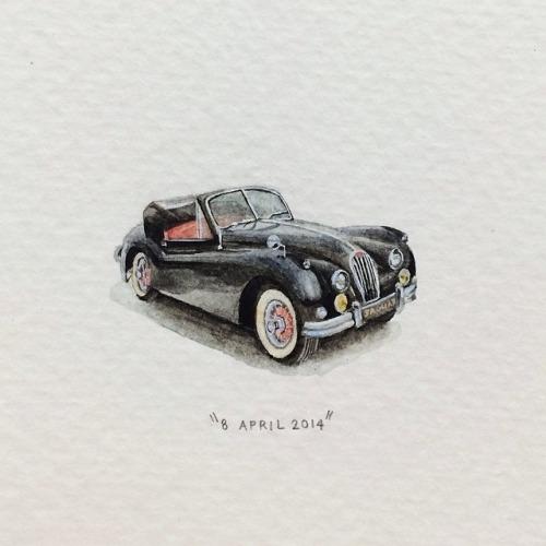 1956 Jaguar XK