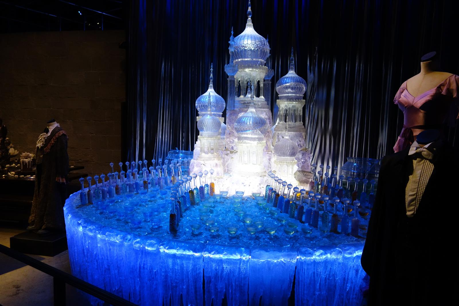 7. Yule Ball Ice Sculpture