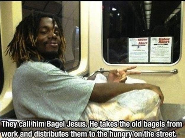 Bagel Jesus
