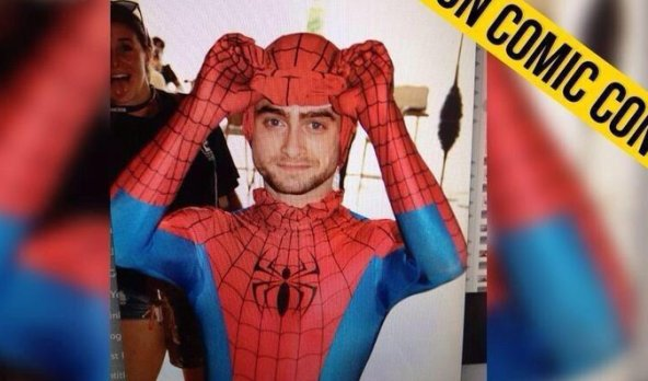 Daniel Radcliffe as Spiderman