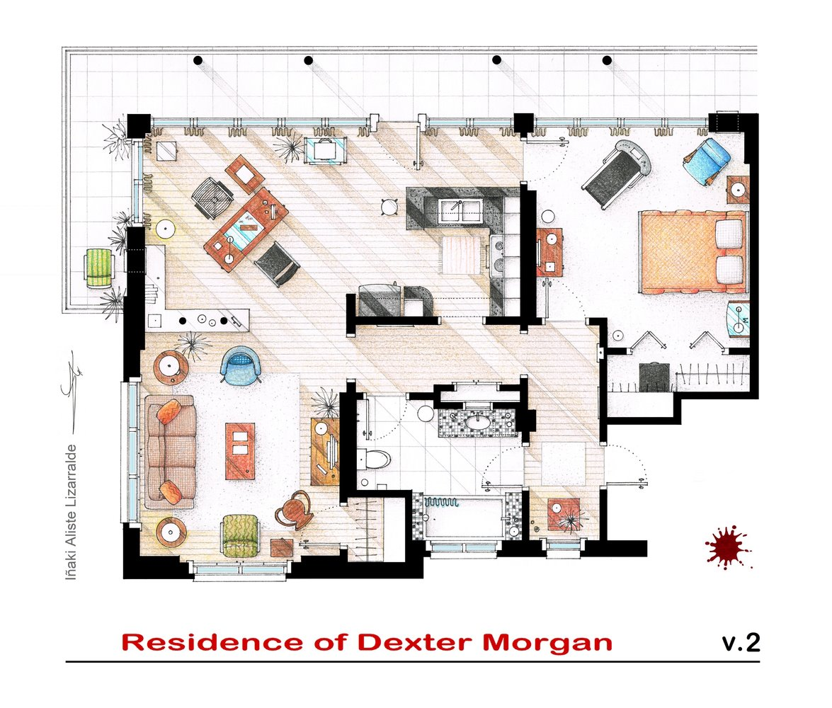 Dexter Apartment Floor Plan