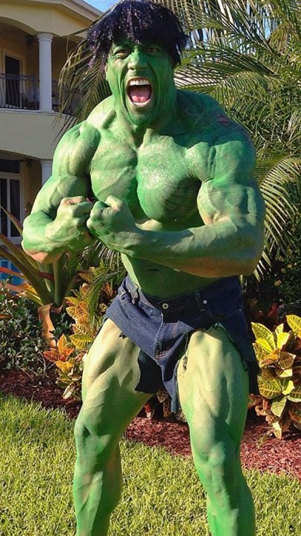 Dwayne Johnson as The Hulk