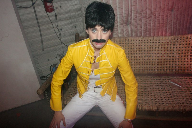 Katy Perry as Freddie Mercury