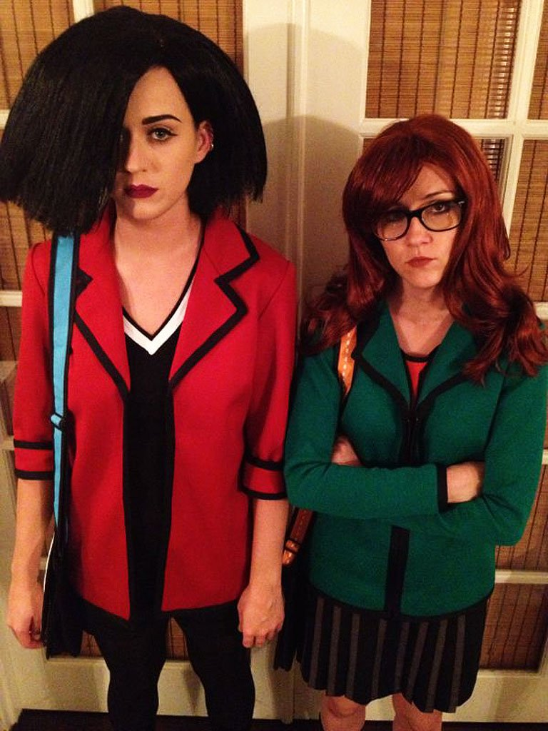Katy Perry as Jane and Shannon Woodward as Daria