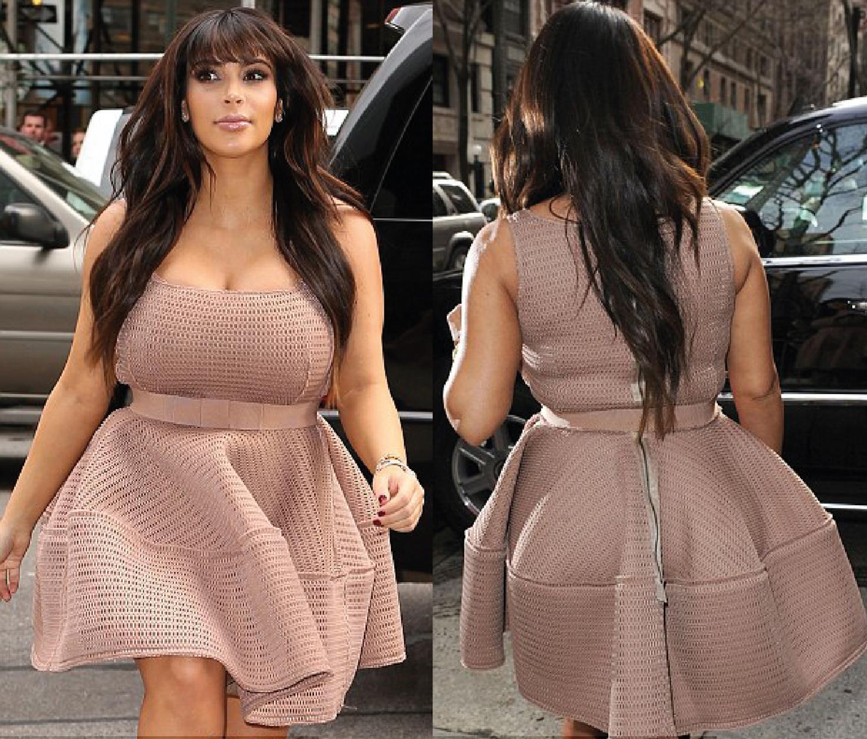 Kim Kardashian Lanvin Dress
