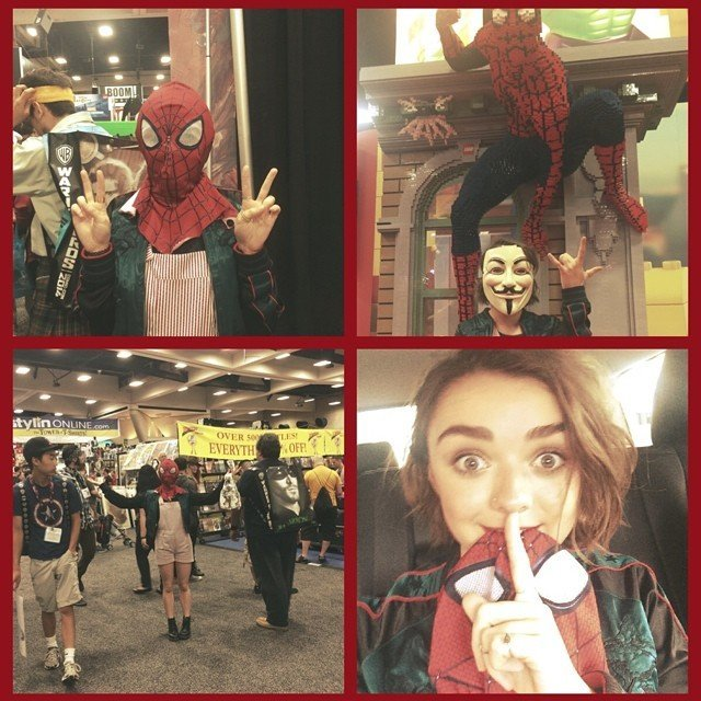 Maisie Williams as Spider-Man