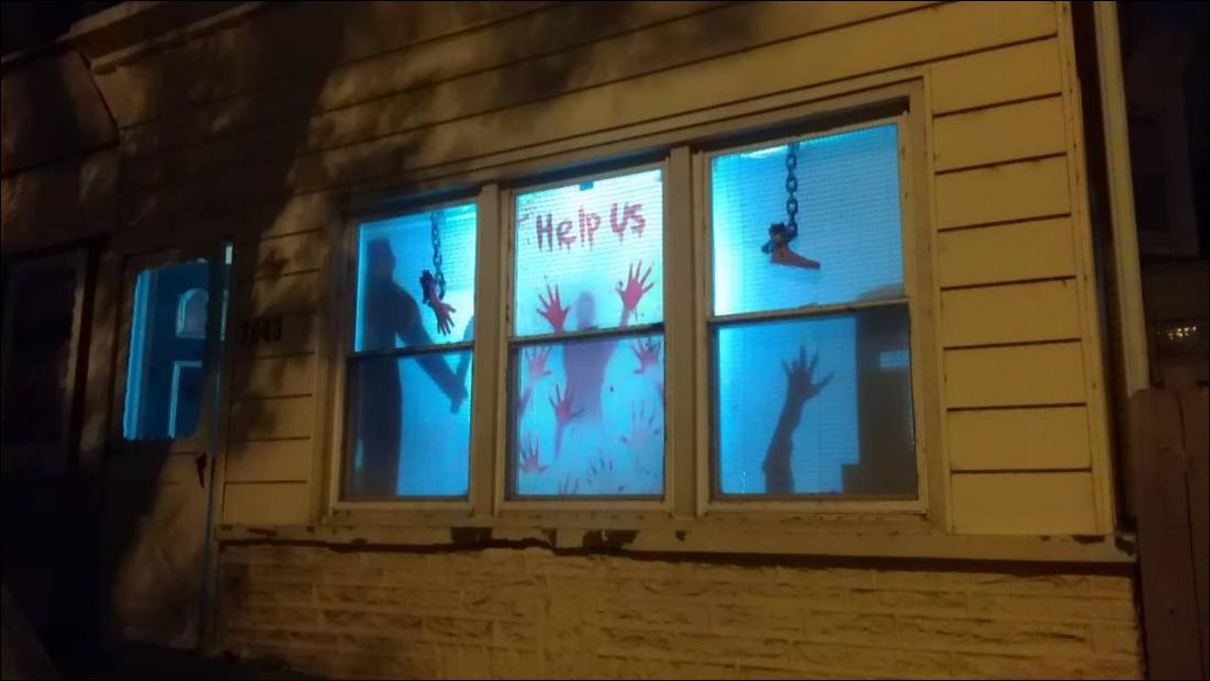 Murder House Halloween Decor