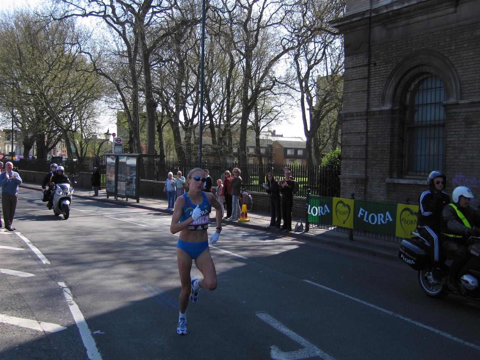 Paula Radcliffe At 2005 London Marathon