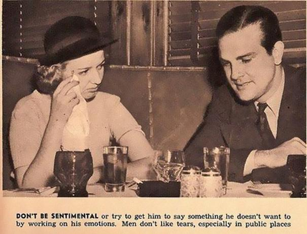 Sexist Dating Tips From 1938 (1)