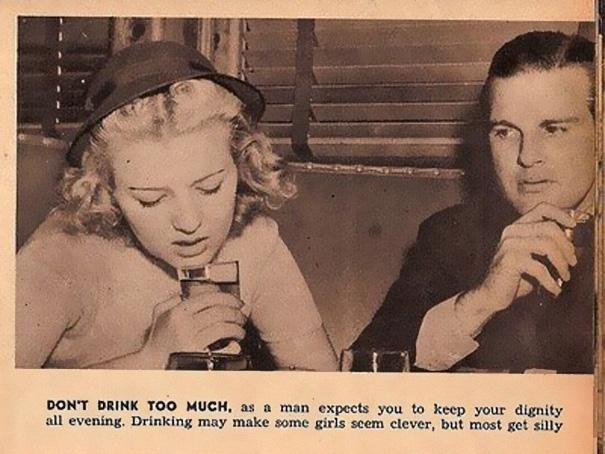 Sexist Dating Tips From 1938 (11)