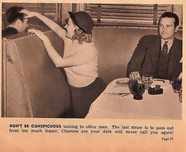 Sexist Dating Tips From 1938 (12)