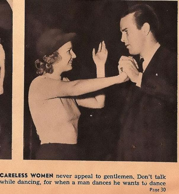 Sexist Dating Tips From 1938 (6)
