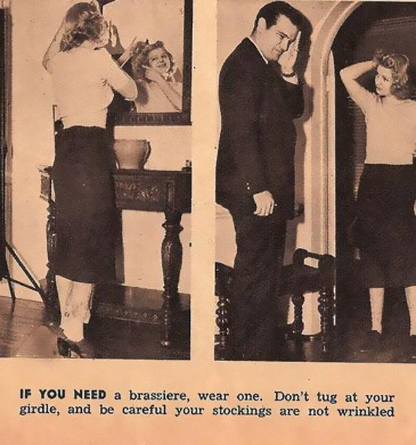 Sexist Dating Tips From 1938 (7)