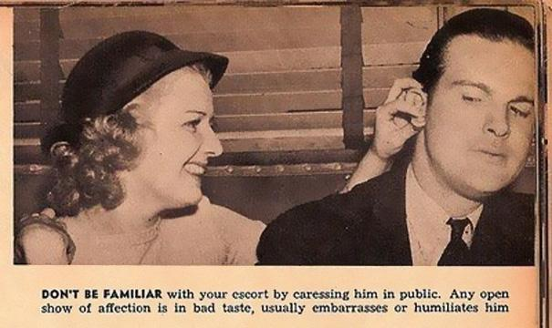 Sexist Dating Tips From 1938 (8)