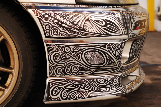 Sharpie On Car (6)