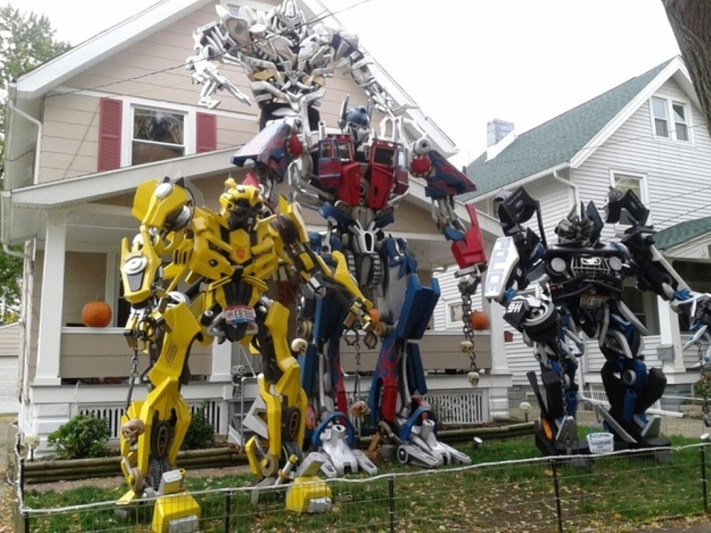 Transformers Halloween Decor