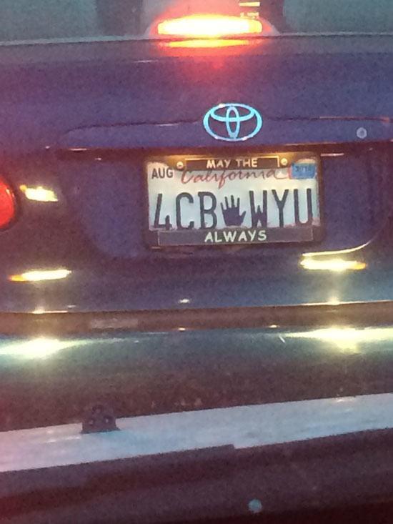 Vanity Licence Plate (11)