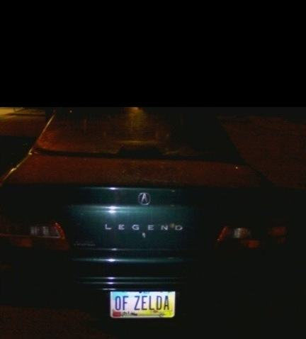 Vanity Licence Plate (21)