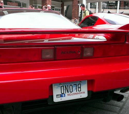 Vanity Licence Plate (3)