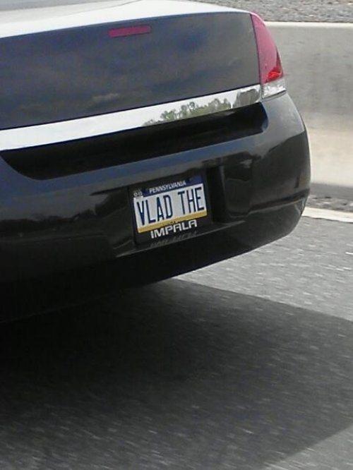 Vanity Licence Plate (4)