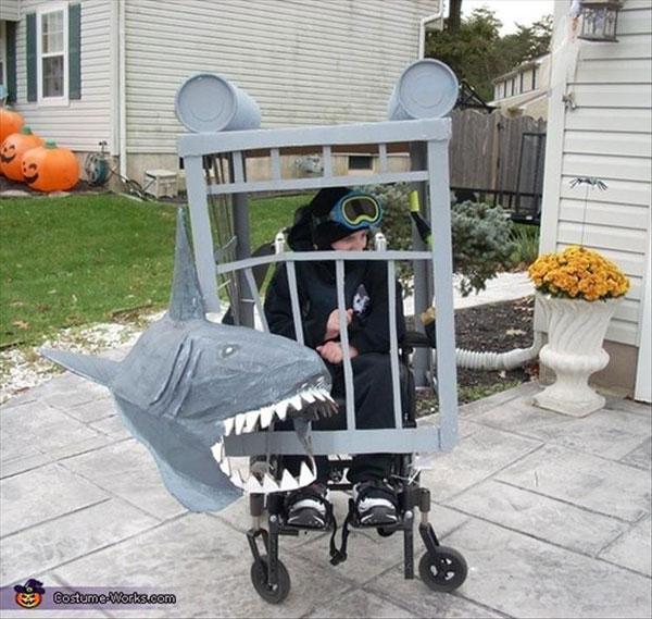 Wheelchair Halloween Costume (1)