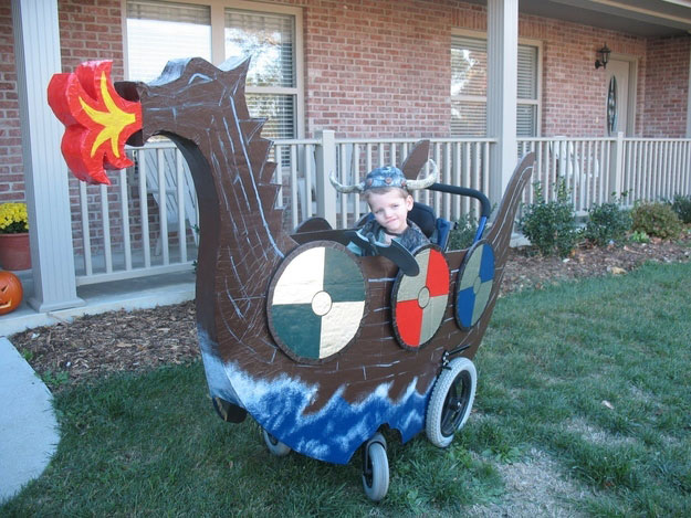 Wheelchair Halloween Costume (10)