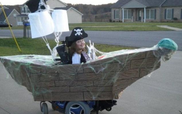 Wheelchair Halloween Costume (2)