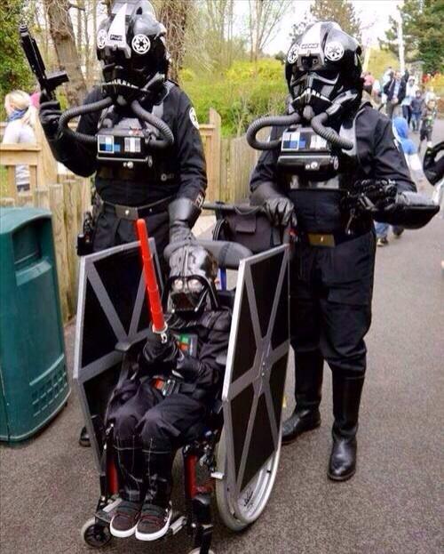 Wheelchair Halloween Costume (3)